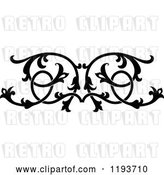 Vector Clip Art of Retro Ornate Floral Victorian Design Element 5 by Vector Tradition SM
