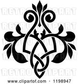 Vector Clip Art of Retro Ornate Floral Victorian Design Element 8 by Vector Tradition SM