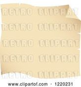 Vector Clip Art of Retro Parchment Paper Page 2 by Cidepix