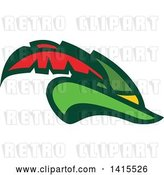 Vector Clip Art of Retro Plumed Robin Hood Hat by Patrimonio