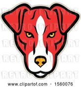 Vector Clip Art of Retro Plummer Terrier Dog Mascot by Patrimonio