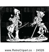Vector Clip Art of Retro Puppet Soldiers by Prawny Vintage