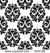 Vector Clip Art of Retro Seamless Floral Background Pattern 2 by Vector Tradition SM
