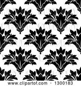 Vector Clip Art of Retro Seamless Floral Background Pattern 3 by Vector Tradition SM