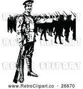 Vector Clip Art of Retro Soldiers by Prawny Vintage