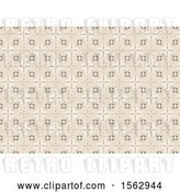 Vector Clip Art of Retro Tile Background by Dero