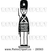 Vector Clip Art of Retro Toy Soldier 2 by Prawny Vintage