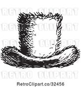 Vector Clip Art of Top Hat in by Picsburg