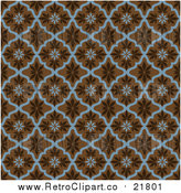August 19th, 2017: Vector Clipart of a Seamless Leaf Pattern by BestVector
