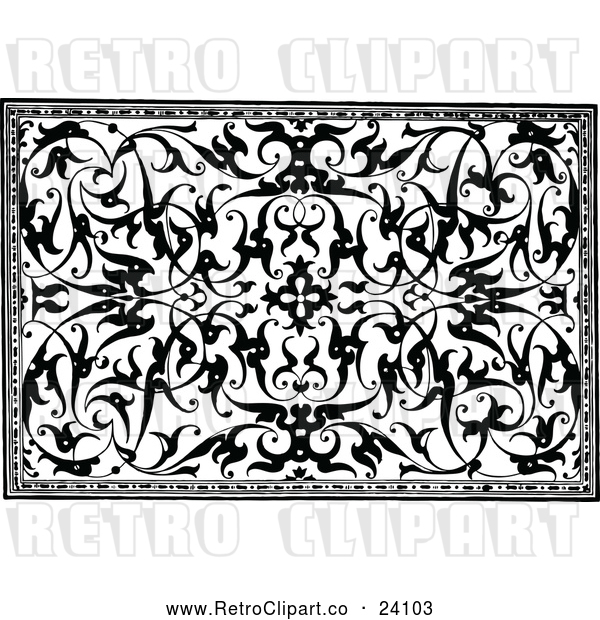 Vector Clip Art of Retro Medieval Design