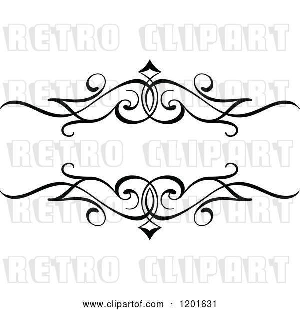 Vector Clip Art of Retro Ornate Frame