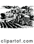 Vector Clip Art of Retro Farm Vehicles by Prawny Vintage