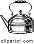 Vector Clip Art of Retro Tea Kettle by Prawny Vintage