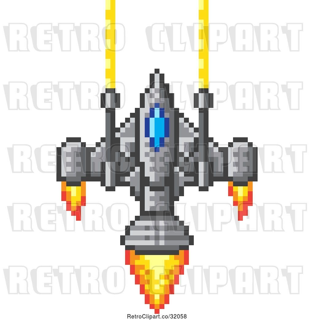 images?q=tbn:ANd9GcQh_l3eQ5xwiPy07kGEXjmjgmBKBRB7H2mRxCGhv1tFWg5c_mWT Pixel Art Spaceship @koolgadgetz.com.info