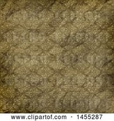 Clip Art of Retro Wrinkled Wallpaper Texture Background by KJ Pargeter