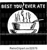 Vector Clip Art of Retro Best You Ever Ate Sign by BestVector