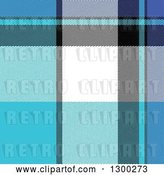 Vector Clip Art of Retro Blue, White, Black and Purple Plaid Seamless Pattern Background by Arena Creative