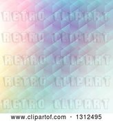 Vector Clip Art of Retro Gradient Pastel Geometric Pattern by KJ Pargeter