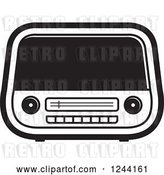 Vector Clip Art of Retro Radio 3 by Lal Perera